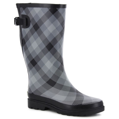 Western Chief Dual Buffalo Womens Waterproof Rain Boots