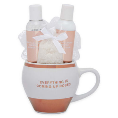 Mixit Mug + Spa 4-pc. Bath Accessory Set