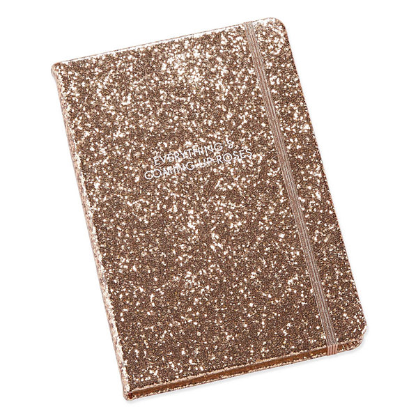 Mixit Hard Back Glitter Notebook