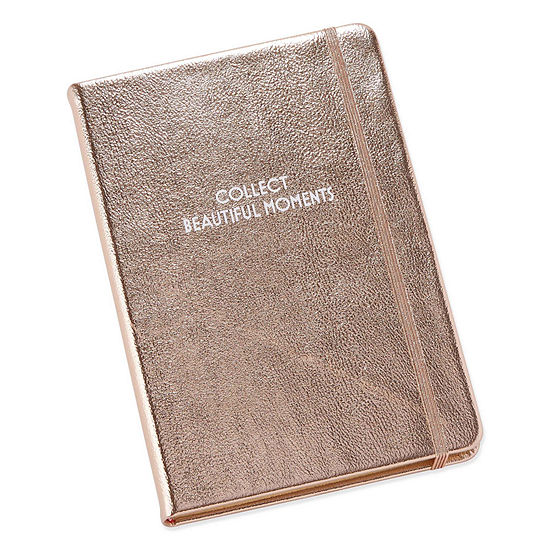 Mixit Rose Gold Hard Back Notebook