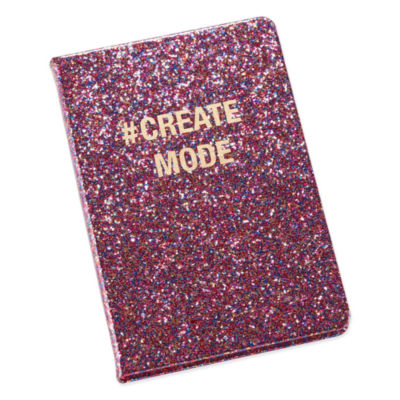 Mixit Glitter Notebook