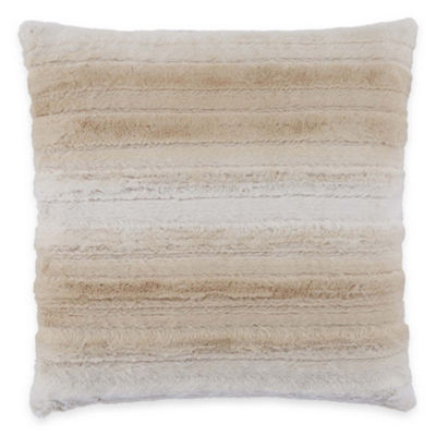 Mixit Ombre Faux Fur Throw Pillow
