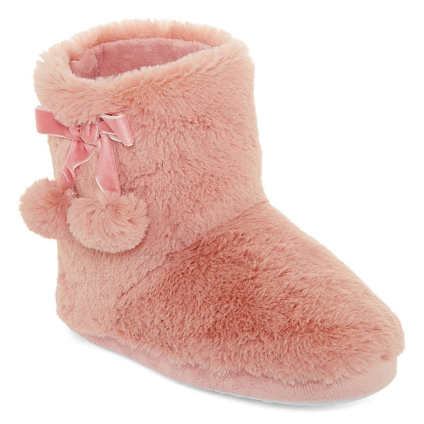 Mixit Mommy and Me Girls 4-6 Bootie Slippers
