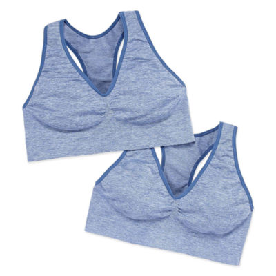 Just My Size Pure Comfort 2-pc. Wireless Racerback Full Coverage Bra - Mj128p