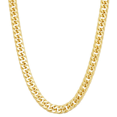 14K Gold Over Silver 20 Inch Chain Necklace