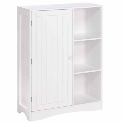 RiverRidge Kids Single Door 3-Cubby Floor Cabinet
