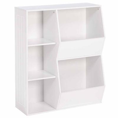 RiverRidge Kids 3-Cubby 2-Veggie Bin Floor Cabinet