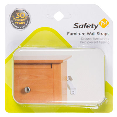 Safety 1st Furniture Wall Straps Safety Latches