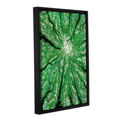 Brushstone Isla In the Sky Gallery Wrapped Floater-Framed Canvas