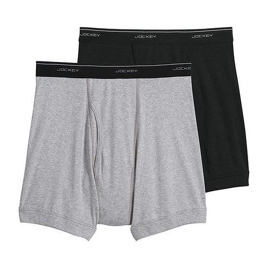 Jockey® 2 Pair Classic Boxer Brief - Big
