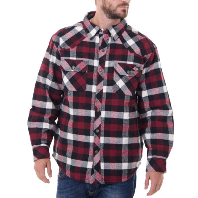 Dickies Quilted Lined Midweight Twill  Shirt Jacket - Big