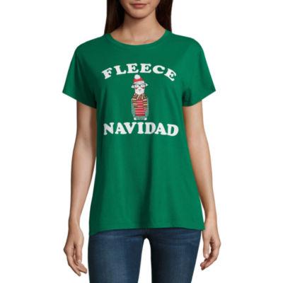 "North Pole Trading Co. ""Fleece Navidad"" Graphic T-Shirt"
