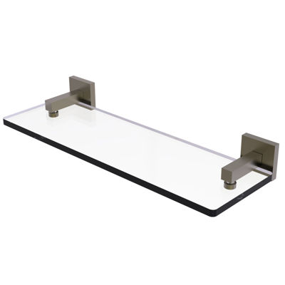 Allied Brass Montero Collection 16 IN Glass VanityShelf With Beveled Edges