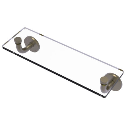 Allied Brass Remi Collection 16 IN Glass Vanity Shelf  With Beveled Edges