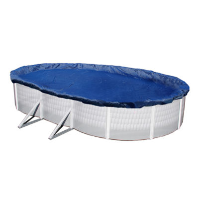 Gold 15-Year Oval Above Ground Pool Winter Cover