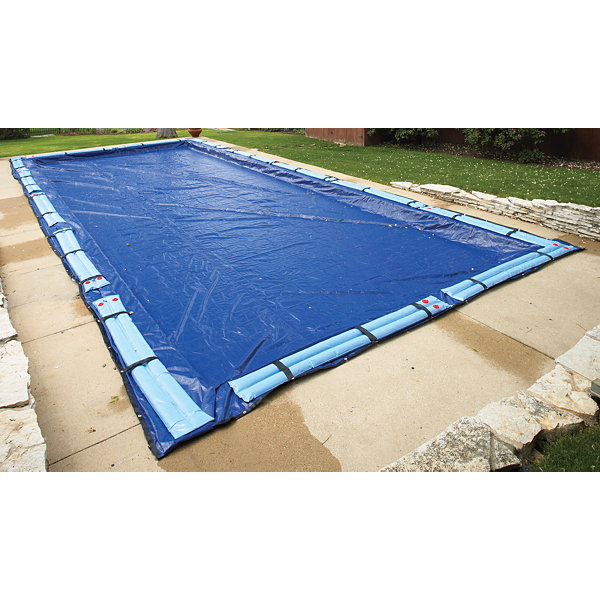 Gold 15-Year Rectangular In Ground Pool Winter Cover