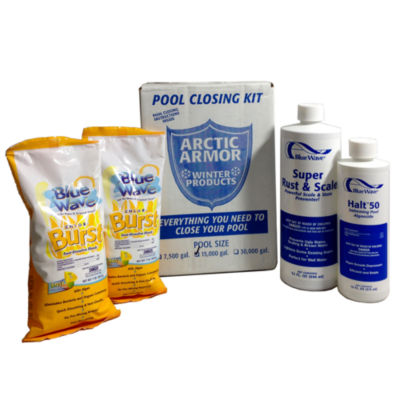 Chlorine Pool Winterizing Kit - Medium to 15 000 Gallons