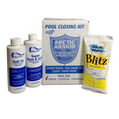 Chlorine Free Pool Winterizing Kit - Small to 7 500 Gallons