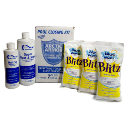 Chlorine Free Pool Winterizing Kit - Large to 30 000 Gallons