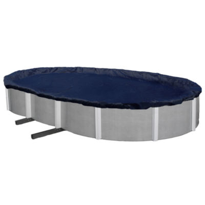 Bronze 8-Year Oval Above Ground Pool Winter Cover