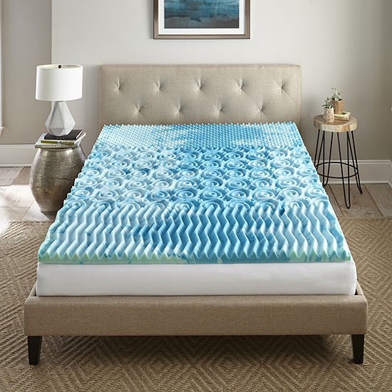 "Lane 2"" Gel mattress topper"