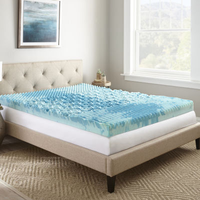 "Lane 4"" Gel mattress topper"