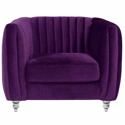 Kent Velvet Club Chair