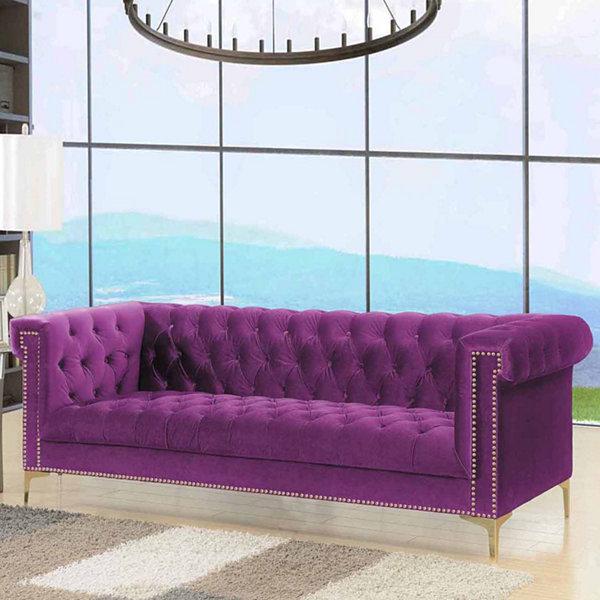 Chic Home Bea Velvet Sofa