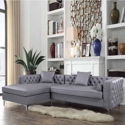 Chic Home Da Vinci Leather Sectional