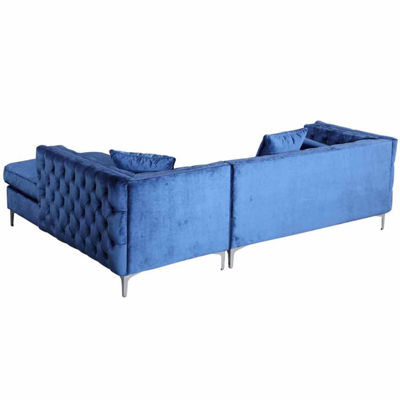 Chic Home Da Vinci Velvet Sectional