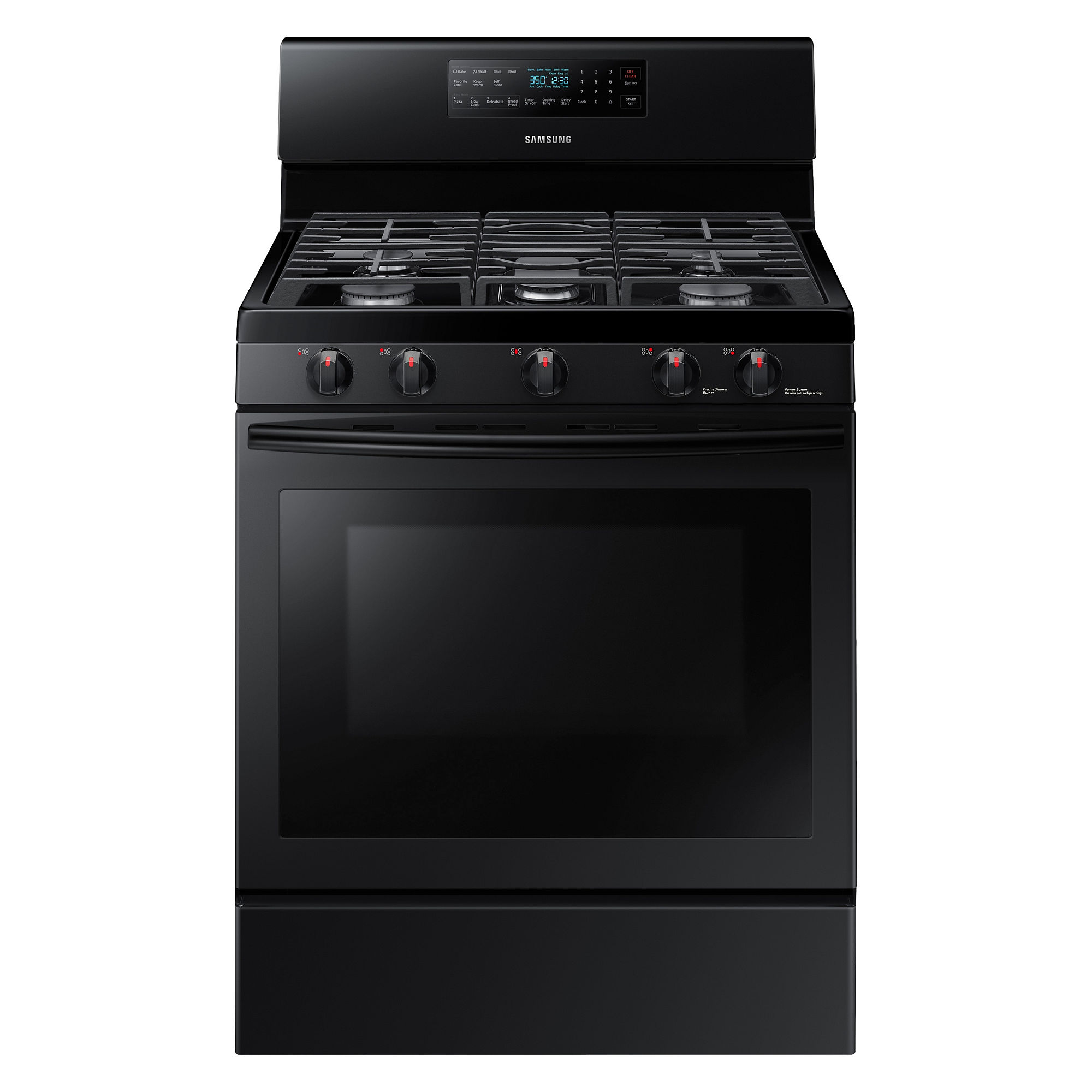 Samsung 5.8 cu. ft. Gas Range with Convection - NX58M5600SB/AA