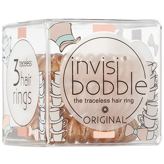 invisibobble I Live In Wonderland Collection ORIGINAL the traceless hair  ring holiday trio JCPenney 1ed0b8b20c6