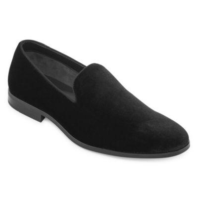 JF J.Ferrar Mens Bogart Loafers Slip-on Closed Toe