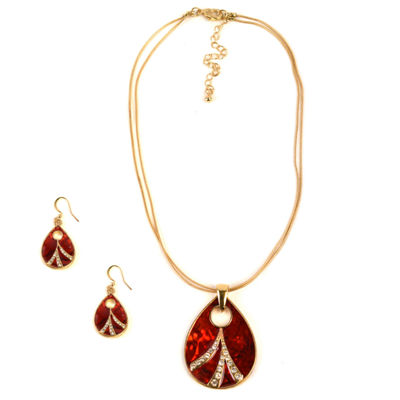 Mixit Womens Gold Tone 3-pc. Jewelry Set