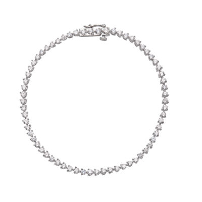 Grown With Love 3 CT. T.W. Lab Grown Diamond 10K White Gold 7.5 Inch Tennis Bracelet