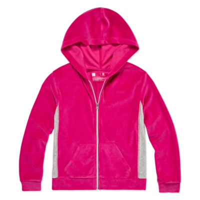 Xersion Velour Hoodie - Girls' 4-16 & Plus