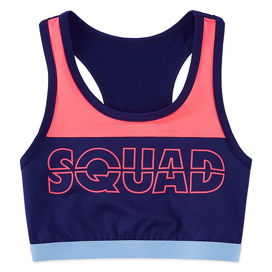 Xersion Color Block Sports Bra - Girls' 4-16 & Plus