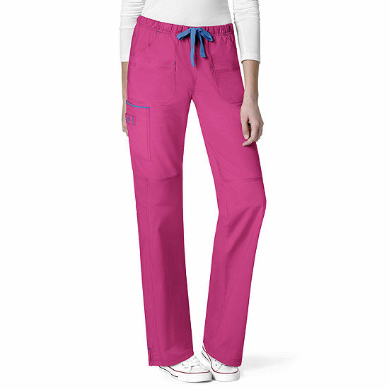 WonderWink® WonderFLEX 5508 Women's Joy Stylized Pocket Pant - Petite Plus