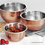 Tramontina Limited Editions 3-pk Copper Mixing Bowls