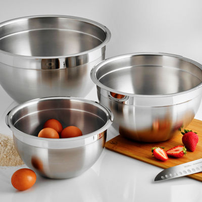 Tramontina Gourmet 3pk Stainless Steel Mixing Bowls