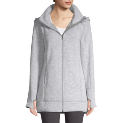 St. John's Bay Active Sweater Fleece Jacket