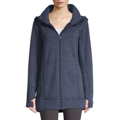 St. John's Bay Active Sweater Fleece Jacket