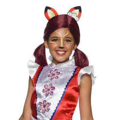 Enchantimals Felicity Fox Girls Wig With EarsOne-Size
