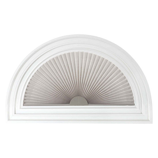 """JCPenney Home™ Arch 1"""" Linen Pleated Shade - FREE SWATCH"""