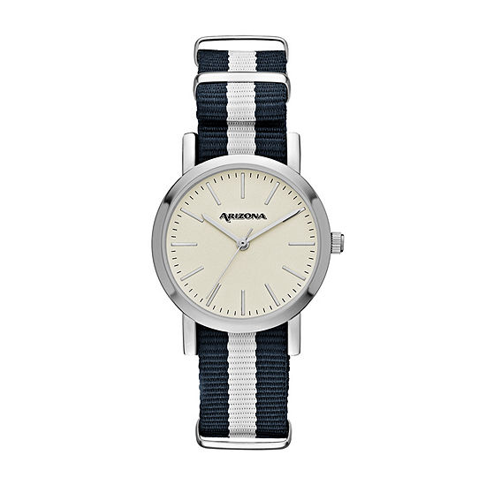 Arizona Womens Blue Strap Watch-Fmdarz154