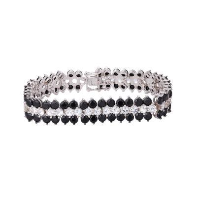 Sterling Silver 7.25 Inch Semisolid Link Bracelet