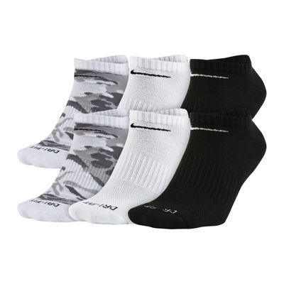 Nike® Mens 6-pk. Dri-FIT Mix Camo No Show Socks