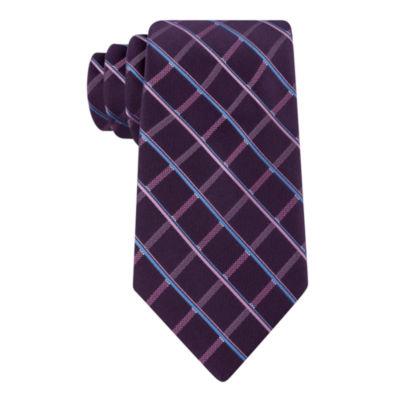 Stafford Satin Grid Tie