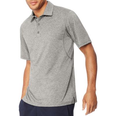 Hanes Quick Dry Short Sleeve Jersey Polo Shirt