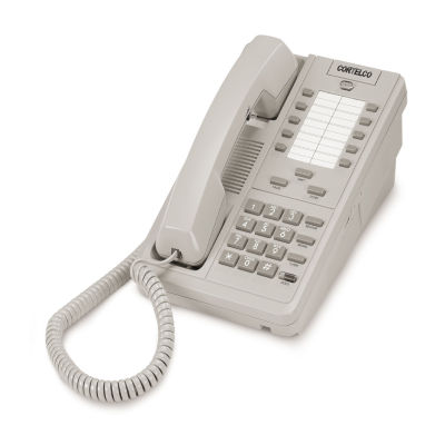 Cortelco ITT-2191-PG Patriot Corded Telephone - Pearl Gray